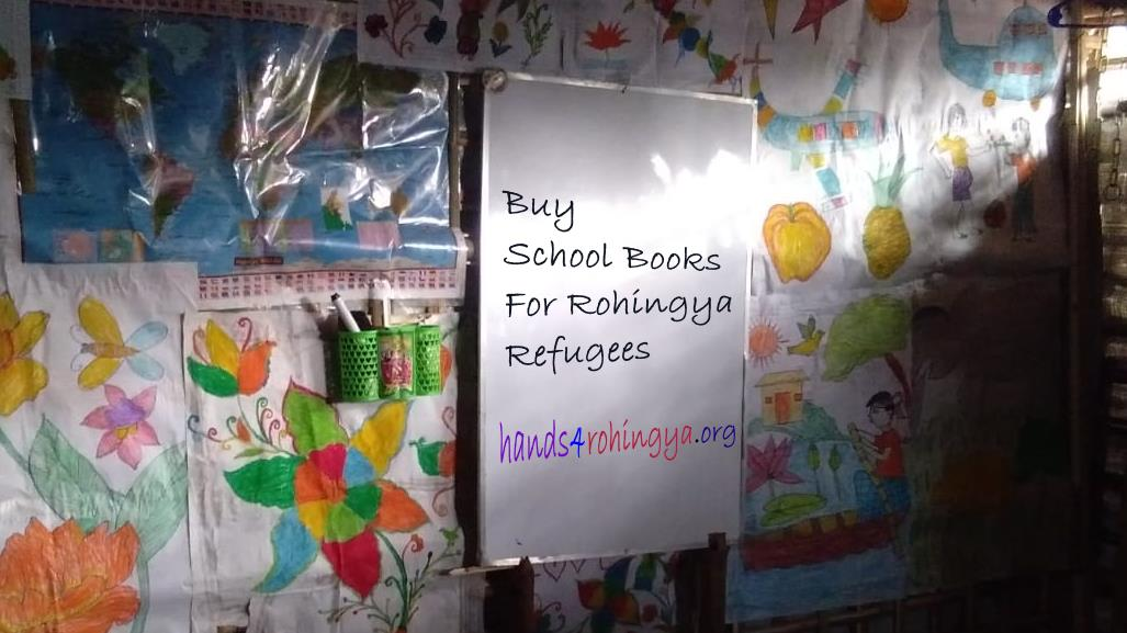 Buy School Books for Rohingya Students
